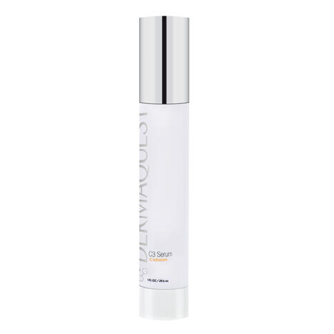 Dermaquest C3 serum. A lipid soluble form of vitamin C. Brightening and antioxidant ingredients.