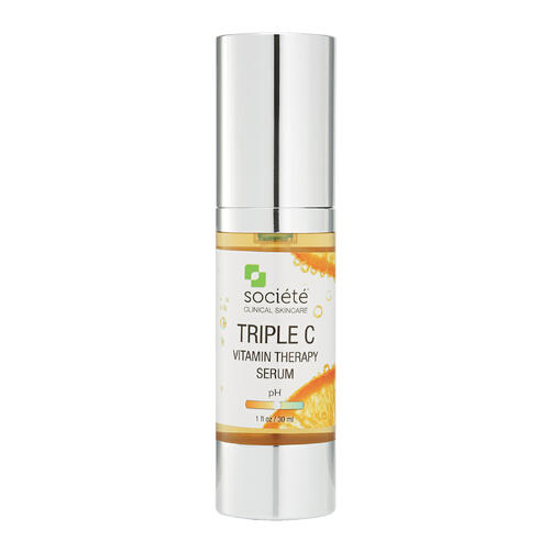 Societe Triple C serum helps to combat the visible signs of ageing.